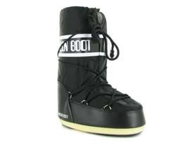 OLSA MOON BOOT NYLON ADULTE:Synthétique/Noir/Noir