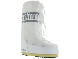 BASIL MOON BOOT NYLON ADULTE:Synthétique/Blanc/Blanc