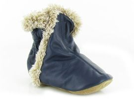 GIRLY SPACE CLASSIC BOOTIE:Cuir lisse/Bleu/Marine