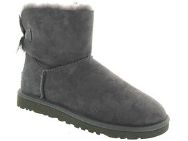 3539 MINI BAILEY BOW 5062:Nubuck/Gris/Gris