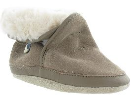 POST OWL COSY BOOT:Marron/Marron