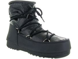 MOON BOOT MB WE LOW GLITTER<br>Noir
