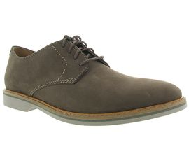 CLARKS ATTICUS LACE<br>Taupe