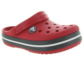 SLIM ANIMAL CROCBAND CLOG:Caoutchouc/Rouge/Rouge