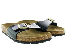 BIRKENSTOCK MADRID MAGIC SNAKE<br>Noir