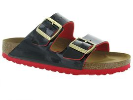 BIRKENSTOCK ARIZONA TWO TONS<br>Noir