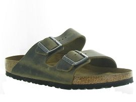 LAZARE ARIZONA OILED LEATHER:Cuir lisse/Vert/Kaki