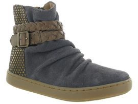 SO ROCK PLAY STRAP:Nubuck/Gris/Gris