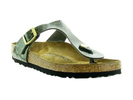 BIRKENSTOCK GIZEH MAGIC SNAKE<br>Kaki