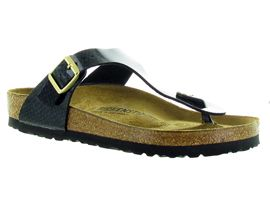 BIRKENSTOCK GIZEH MAGIC SNAKE<br>Noir