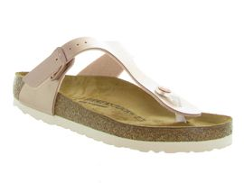 BIRKENSTOCK GIZEH ELECTRIC METALLIC<br>Rose