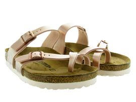 BIRKENSTOCK MAYARI ELETRIC METALLIC<br>Rose