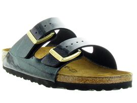 BIRKENSTOCK ARIZONA MAGIC SNAKE<br>Noir