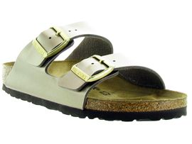 BIRKENSTOCK ARIZONA ELECTRIC METALLIC<br>Taupe