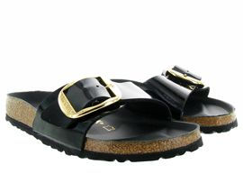 BIRKENSTOCK MADRID BIG BUCKLE<br>Noir