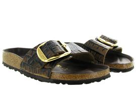 BIRKENSTOCK MADRID BIG BUCKLE<br>Marron