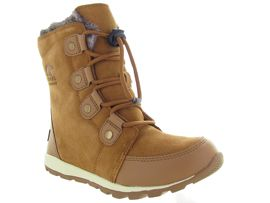 SOREL YOUTH WHITNEY SUEDE<br>Camel