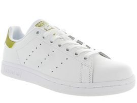 C0704X STAN SMITH JUNIOR:Cuir lisse/Beige/Or