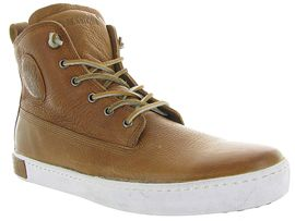 WARD V BOY AM02:Nubuck/Marron/Gold