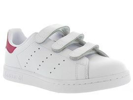 ADIDAS STAN SMITH VELCRO ADULTE<br>Blanc