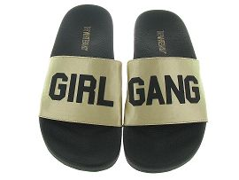 THE WHITE BRAND L0145 GIRL GANG<br>Beige