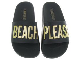 THE WHITE BRAND L0011 BEACH PLEASE<br>Noir