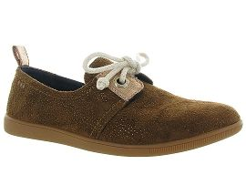 CA1J5J COURMAYEUR VALLEY STONE ONE PICKLES:Nubuck/Marron/Gold