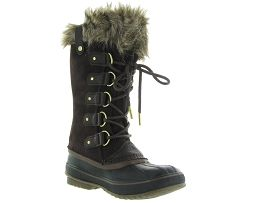 SOREL JOAN OF ARCTIC NL2429<br>Marron fonçé