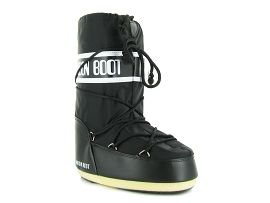 MOON BOOT MOON BOOT NYLON KIDS<br>Noir