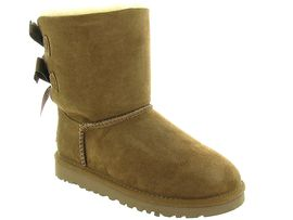 UGG AUSTRALIA BAILEY BOW KID 3280<br>Gold