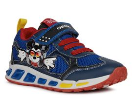 GEOX J0294A SHUTTLE BOY<br>Bleu royal