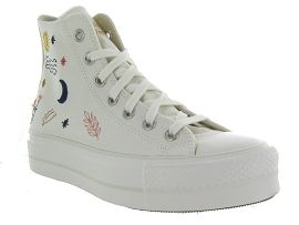 CA1SDI KILLINGTON CTAS STAR LIFT HI:Toile/Blanc/Blanc