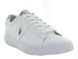 RALPH LAUREN SAYER CANVAS<br>Blanc