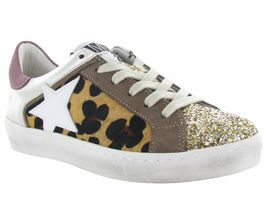 PARMY CARLA 2444:Paillettes - Glitter/Beige/Or