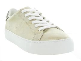 CTAS STAR LIFT HI ARCADE PUNCH:Cuir laminé/Beige/Or