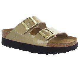 OSEA ARIZONA PLATFORM:Vernis/Beige/Or