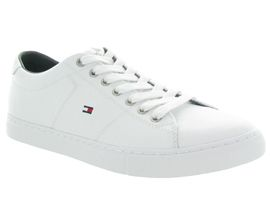 TOMMY HILFIGER ESSENTIAL LEATHER<br>Blanc