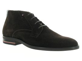 TOMMY HILFIGER SIGNATURE BOOT<br>Marron fonçé