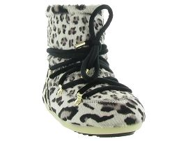 MOON BOOT MB DK SIDE LOW ANIMAL<br>Leopard