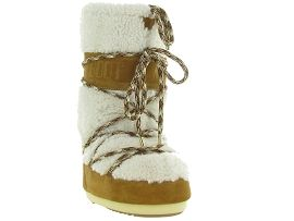 HEMA PEAU MOON BOOT SHEARLING:Mouton/Marron/Camel