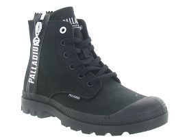 PALLADIUM PAMPA 2 BACK ZIP<br>Noir