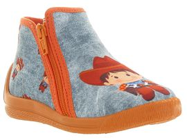 Bellamy chaussons et pantoufles dax orange