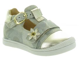 BE PLAIN PUPPY:Cuir lisse/Beige/Or