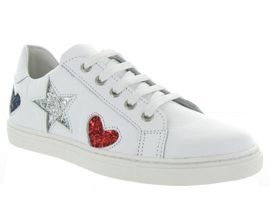 A2BP10151 EARTH RALLY ILDA:Cuir lisse/Blanc/Blanc