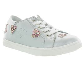 Gbb chaussures a lacets astola argent