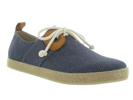 Armistice chaussures a lacets cargo one samba marine