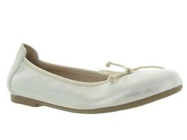 221 STEEL 6006:Cuir laminé/Beige/Or