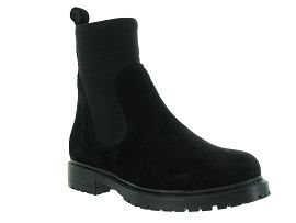 CA1HLS ALLINGTON EVELYN:Nubuck gras/Noir/Noir