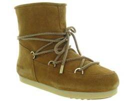 MOON BOOT MB FAR SIDE LOW SUEDE<br>Camel