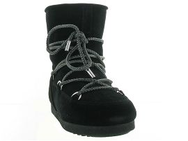 MOON BOOT MB FAR SIDE LOW SUEDE<br>Noir